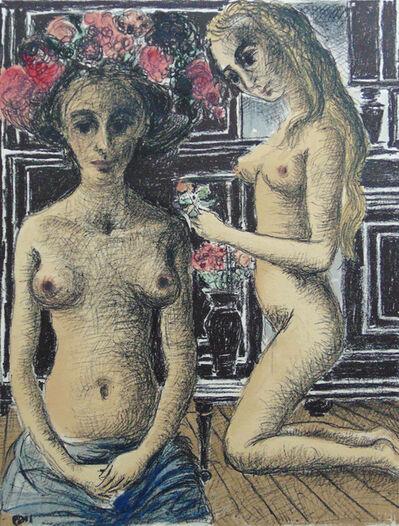 Paul Delvaux, 'Phyrné', 1969