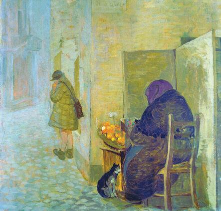 Giovanni Marchini, 'Venditrice di Arance | Orange seller', 1941