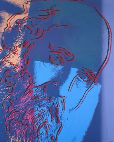 Andy Warhol, 'Martin Buber', 1980