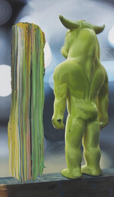 Richard Patterson, 'Young Minotaur', 1997