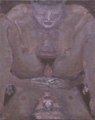 Merlin James, 'Purple', 2004