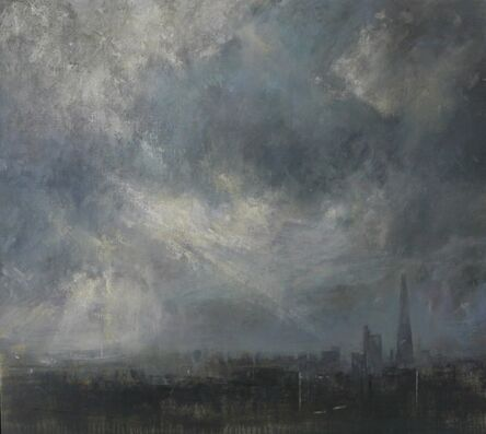 Benjamin Warner, 'Breaking Light Over London Skyline', 2016