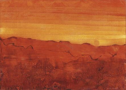 Max Ernst, 'Arizona rouge', 1955