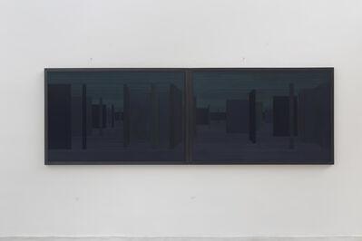 Janaina Mello Landini, 'Labirinto Rizomático [Blue]', 2017