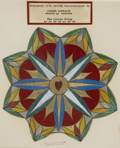 Norma Oliver, 'Spiritual Portrait of Joseph Korpanty', 1950