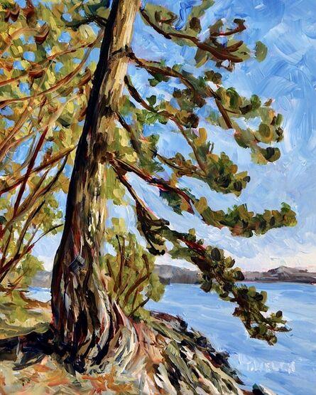 Terrill Welch, 'Standing Before an Old Fir Tree Study', 2019
