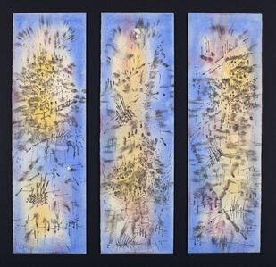 Antônio Bandeira, 'Sans Titre (Triptyque)', 1955