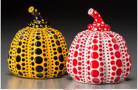 Yayoi Kusama, 'Red and Yellow Pumpkin (two works)', 2013