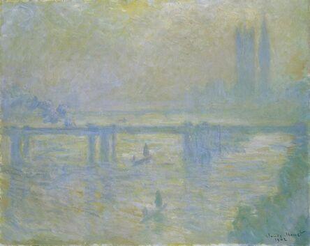 Claude Monet, 'Charing Cross Bridge', 1902
