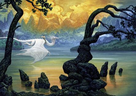 Ciruelo Cabral, 'Fantasy Lake', 2017