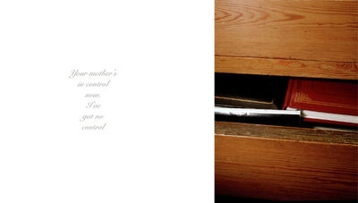 Anna Fox, 'My Mother's Cupboards and My Father's Words (12)', 1999