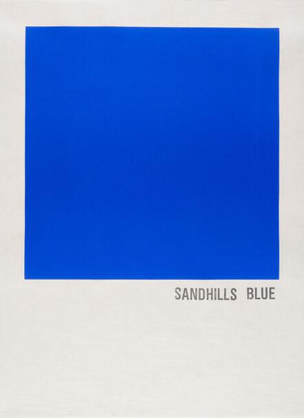 Todd Norsten, 'Sandhills Blue', 2016