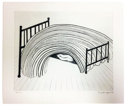 Louise Bourgeois, 'Bed', 1997