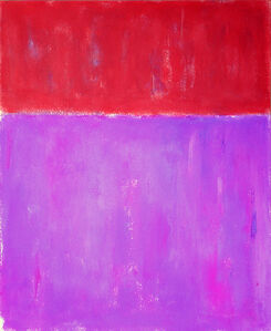 Luis Medina, 'Red and violet', 2015