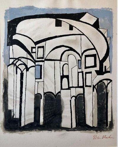 Ben Shahn, 'To Roads in Unknown Regions', 1968