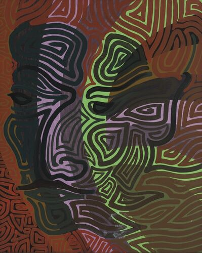 Jehangir P. Vazifdar, 'Self Portrait', 1965