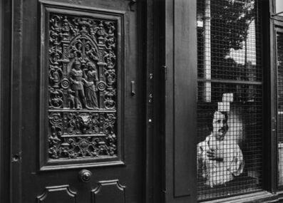 André Kertész, 'Paris,Window with Nadar's Portrait of Balzac, July 18, 1984', 1984