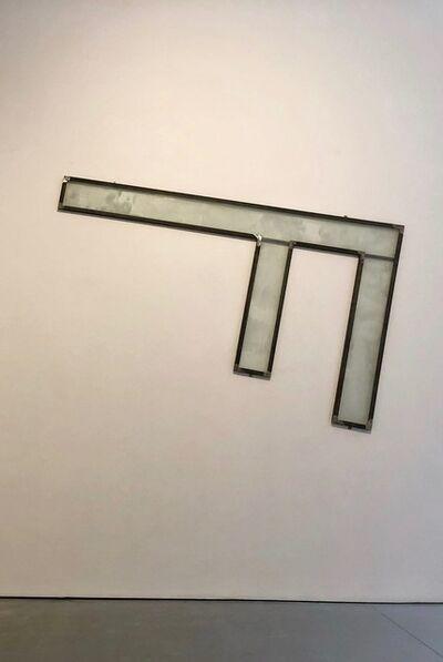 Nacho Criado, 'Sin titulo (F de hierro y de cristal)', 2003