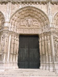 'Chartres Cathedral, Royal Portal, West Façade', ca. 1145-55
