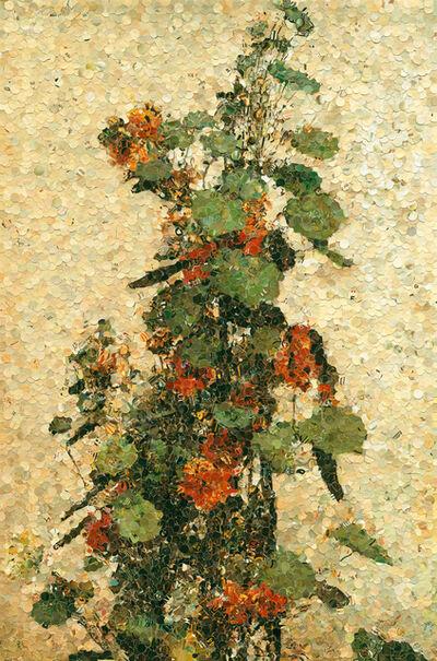 Vik Muniz, 'Nasturtiums, after Fantin Latour', 2004