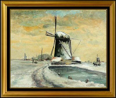 Anthony Thieme, 'Dutch Windmill', 1908