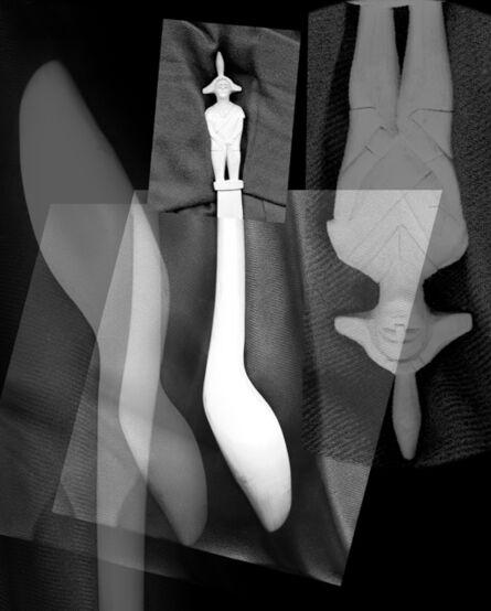 Mario Cresci, 'Scanprint #07, dalla serie Misurazioni, Matera 1975 - Bergamo 2016', 2016