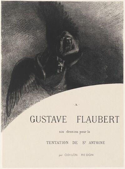 Odilon Redon, 'Frontispiece', 1889