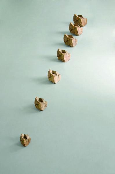 Timm Ulrichs, 'Wachsender Stein (growing stone)', 2008