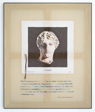 Elaine Reichek, 'The Theseus Paradox', 2015