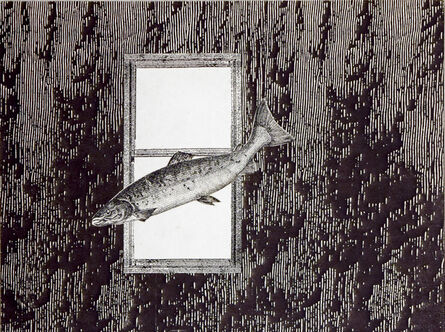 Stacey Steers, 'Phantom Canyon (fish flying by window)'