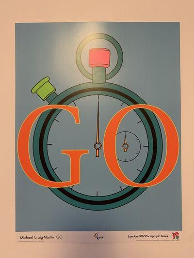 "Michael Craig-Martin, '""GO""', 2012"