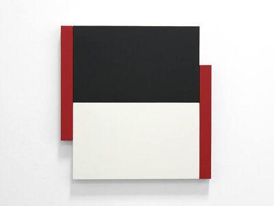 Scot Heywood, 'Poles Red, Black, White'