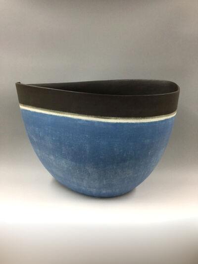 Mitsukuni Misaki, 'Vase decorated with slips', 2016