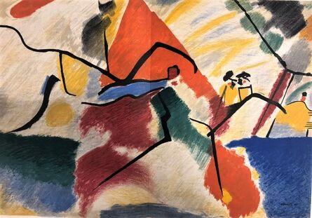 Wassily Kandinsky, 'Période dramatique 1910-1920', 1955