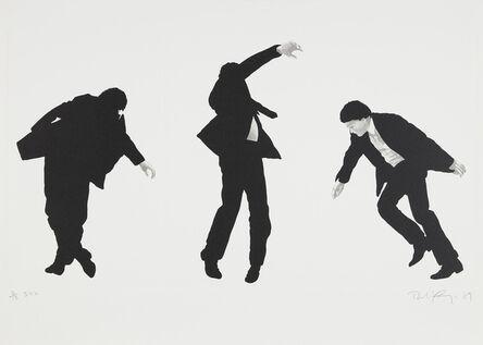 Robert Longo, 'Untitled [from Men in the Cities]', 1989