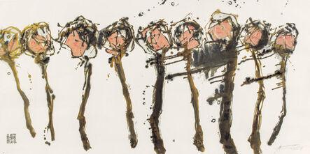 Wei Ligang 魏立刚, 'Golden Plum Blossoms', 2008