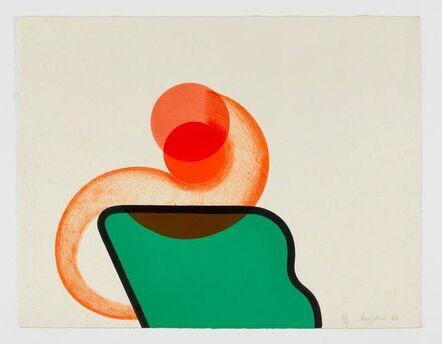 Howard Hodgkin, 'Bedroom', 1966