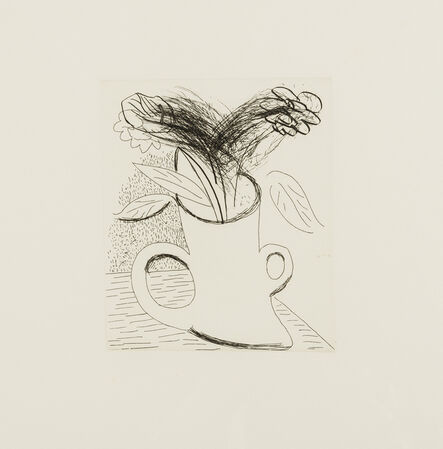 David Hockney, 'Untitled (Flowers in double-handled vase)', 1982-1983
