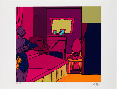 Valerio Adami, 'La Camera', 1995-1996