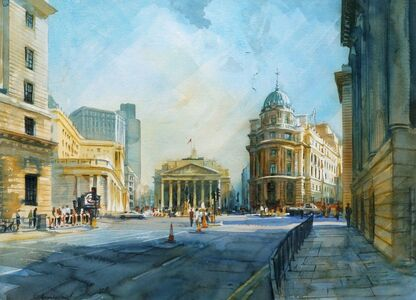Alexander Creswell, 'Mansion House Square', c.1994