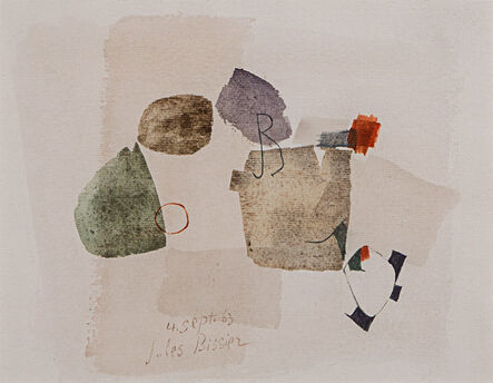 Julius Bissier, 'Composition', 1963