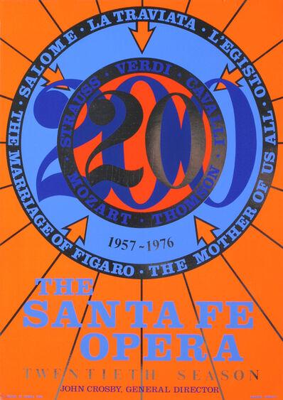 Robert Indiana, 'The Santa Fe Opera', 1976