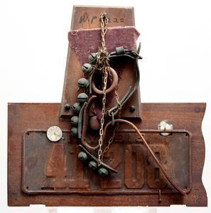 George Herms, 'Sleigh Bells', 1996