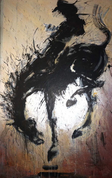 Richard Hambleton, 'Horse and Rider', 2010