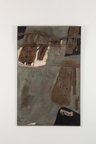 Jaap Wagemaker, 'Peinture grise', 1957