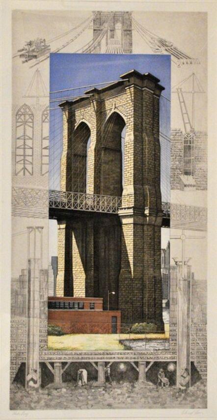 Richard Haas, 'Brooklyn Bridge.', 1994