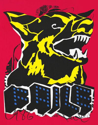 FAILE, 'Faile Dog Black Light', 2015