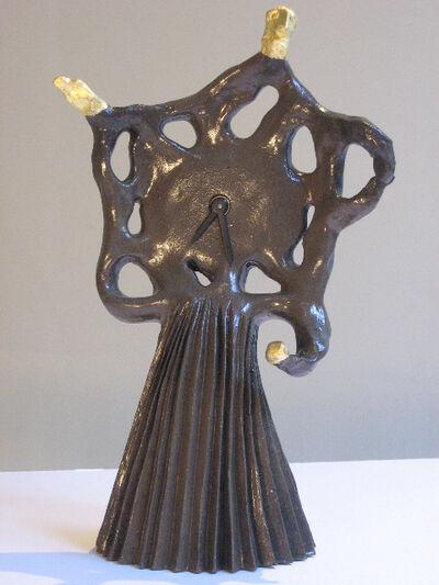 """Elizabeth Garouste, '""""La mère du temps"""" clock', 2008"""