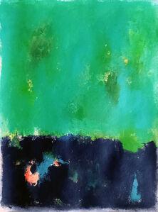 Luis Medina, 'Green and black', 2019