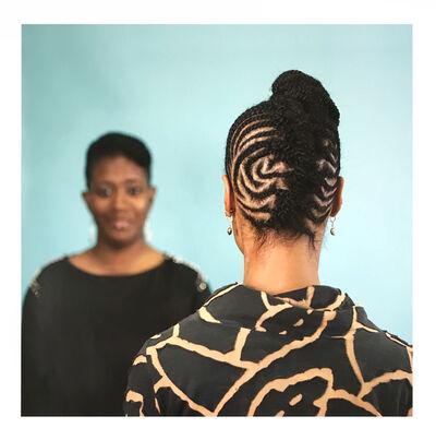 Sonya Clark, 'Hair Craft Project with Natasha', 2014